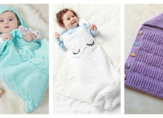 Baby Sleeping Bag Free Knitting Pattern