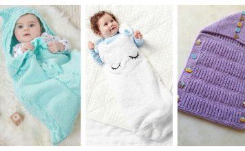 Baby Sleeping Bag Free Knitting Pattern