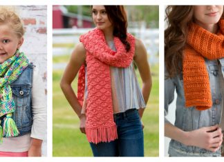 Drop-Stitch Scarf Free Knitting Pattern