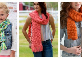 Drop-Stitch Scarf Free Knitting Pattern