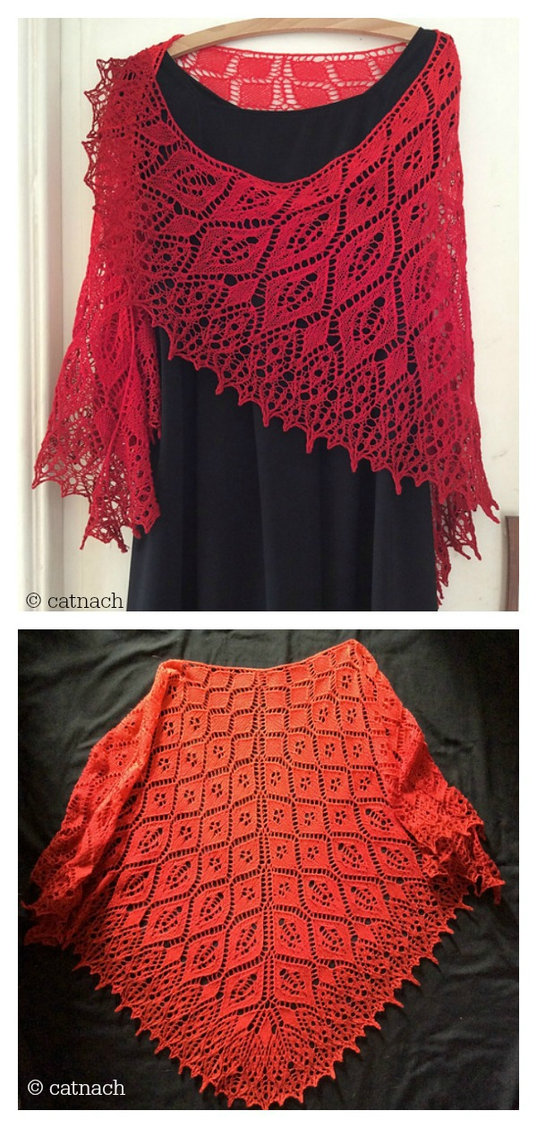 Fair Oriana Lace Shawl Free Knitting Pattern