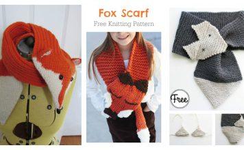 Fox Scarf Free Knitting Pattern