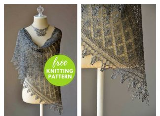 Going Places Shawl Free Knitting Pattern