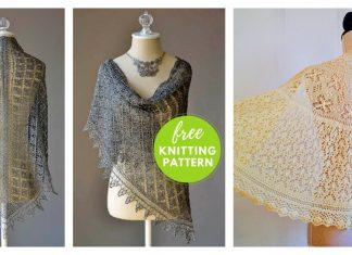 Lace Shawl Free Knitting Pattern