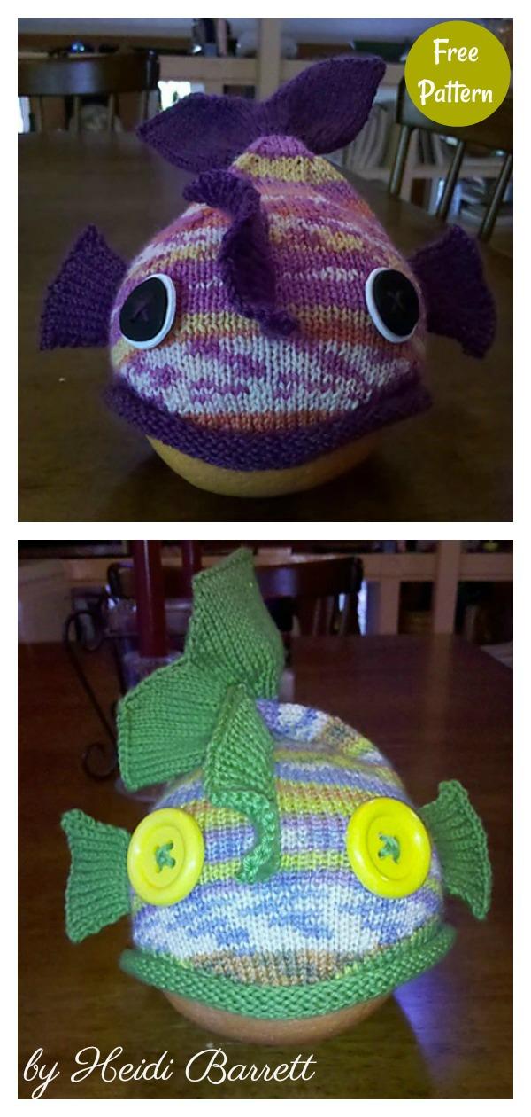 Minnow Fish Hat Free Knitting Pattern