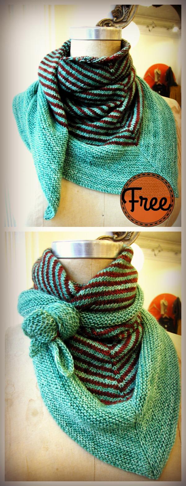 Soho Scarf Free Knitting Pattern