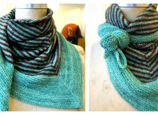 Soho Scarf Free Knitting Pattern