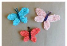 Sweet Butterfly Free Knitting Pattern