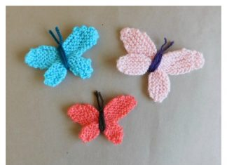 Sweet Butterfly Free Knitting Pattern