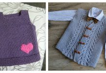 Adorable Baby Vest Free Knitting Pattern