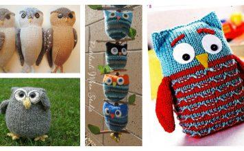 Adorable Puff Owl Free Knitting Pattern