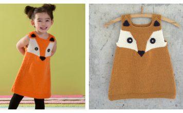 Child's Foxy Tunic Free Knitting Pattern
