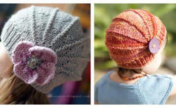 Cute Poppy Hat Knitting Pattern