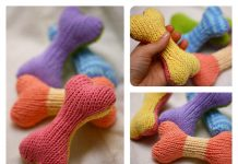 Fetch Bone Free Knitting Pattern