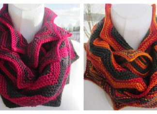 High Mountain Cowl Free Knitting Pattern