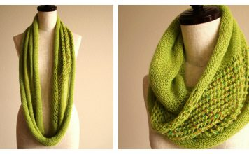 Jeweled Cowl Free Knitting Pattern