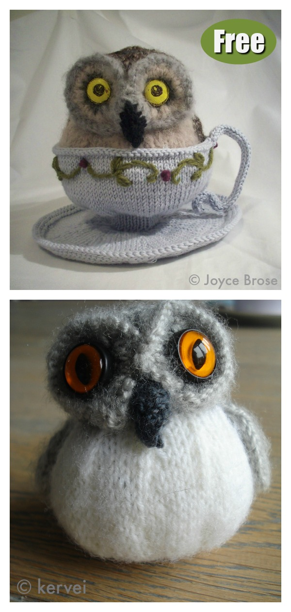 Adorable Puff Owl Free Knitting Pattern Page 2 Of 2