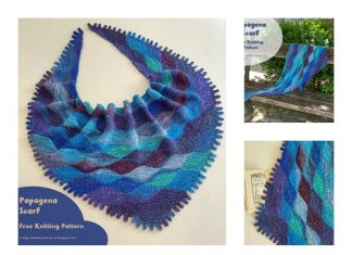 Papagena Scarf Free Knitting Pattern