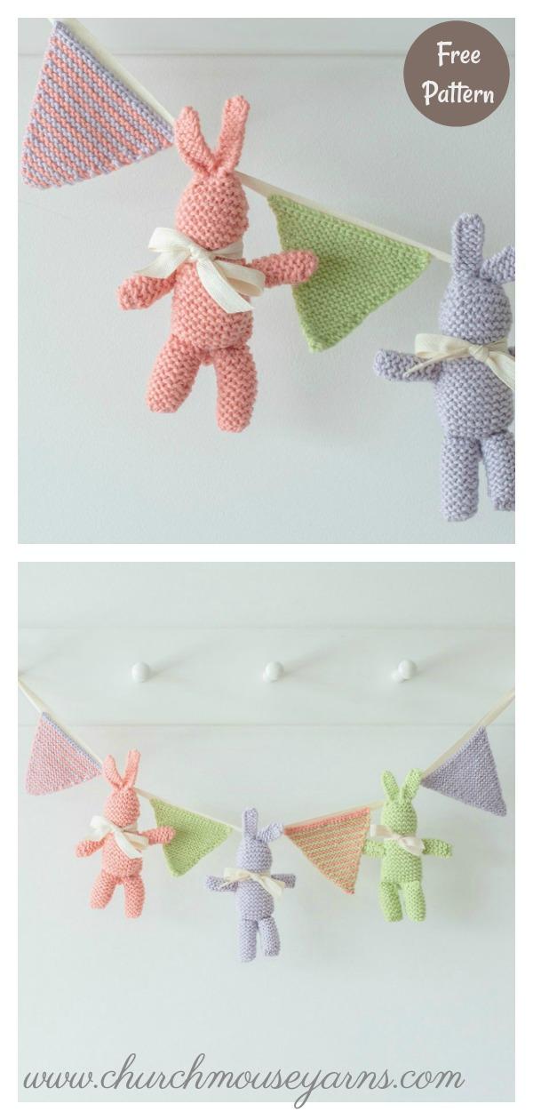 Baby Bunny Free Knitting Pattern