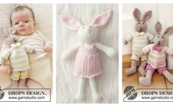 Bunny Rabbit Free Knitting Pattern