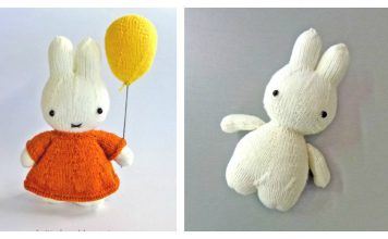 Cute Little Bunny Free Knitting Pattern