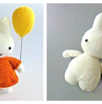 Cute Little Bunny Free Knitting Pattern