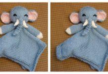Cutie Elephant Blankie Free Knitting Pattern