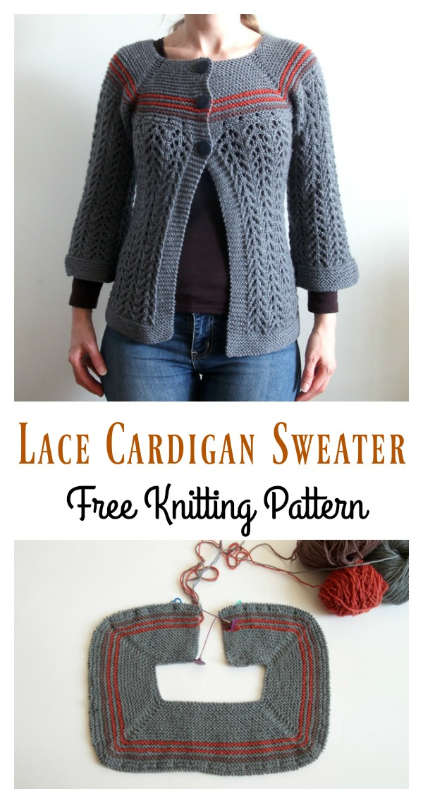 February Sweater Free Knitting Pattern