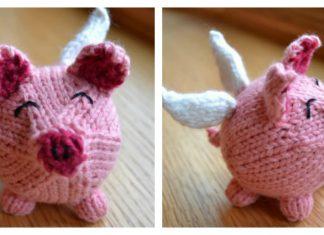 Flying Pig Free Knitting Pattern