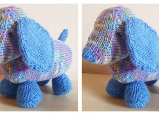 Luis The Long Puppy Free Knitting Pattern