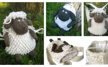 Sheep Backpack Free Knitting Pattern