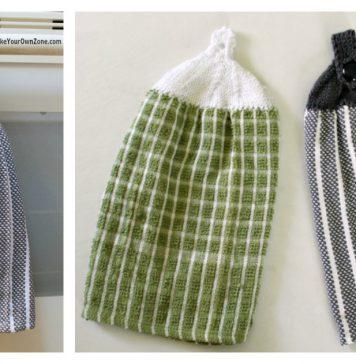 Towel Top Free Knitting Pattern