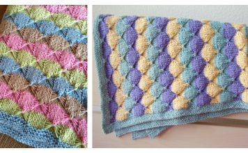 Treetops Baby Blanket Free Knitting Pattern