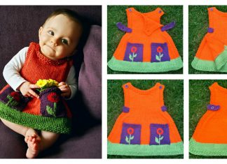 Anouk Dress Free Knitting Pattern