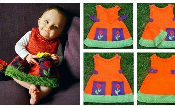 Anouk Dress Free Knitting Pattern