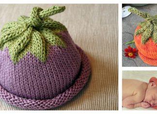 Berry Baby Hat Free Knitting Pattern