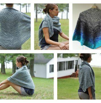 Campside Shawl Free Knitting Pattern