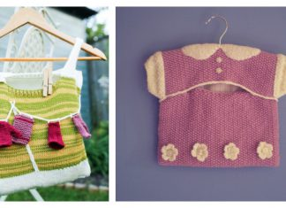 Cute Peg Bag Free Knitting Pattern