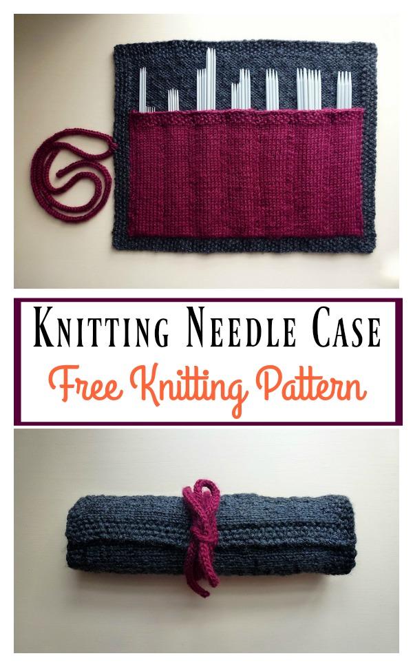 Knitting Needle Case Free Knitting Pattern
