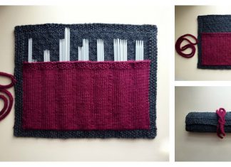 Knitting Needle Case Free Knitting Pattern
