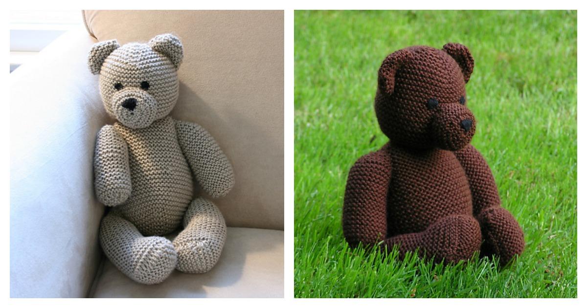 The Cuddliest Crochet Bear Lovey • Sewrella | 630x1200