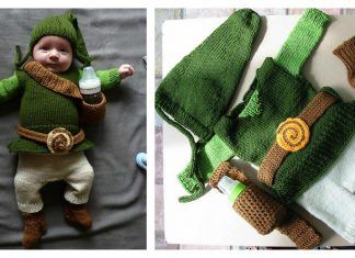 The Legend of Baby Link Costume Free Knitting Pattern