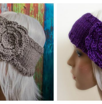The Whitney Headband Free Knitting Pattern