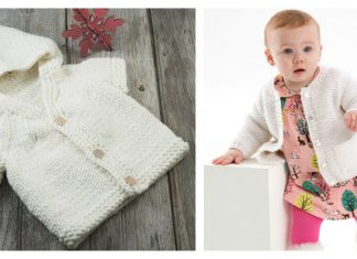 Year-Round Baby Cardigan Free Knitting Pattern