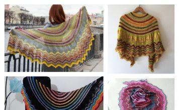 Audrey Lace Shawl Free Knitting Pattern