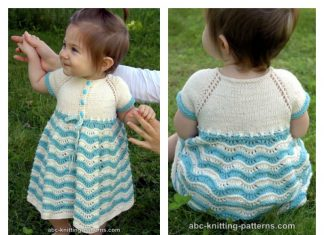 Best Sunday Baby Dress Free Knitting Pattern