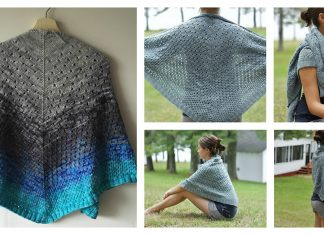 Campside Shawl Free Knitting Pattern