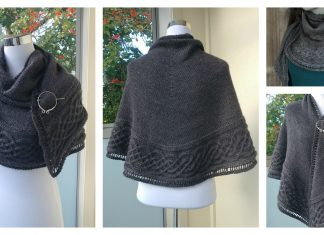 Celtic Shawl Free Knitting Pattern