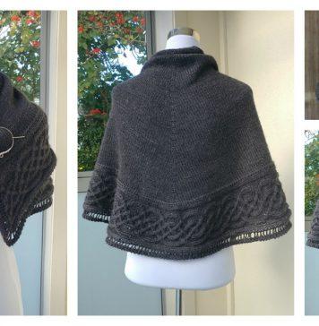 Celtic Shawl Free Knitting Pattern