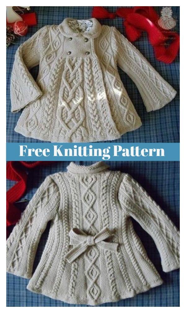 Elizabeth Coat Free Knitting Pattern